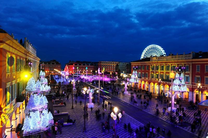 Nice_Frech_riviera_christmas_market